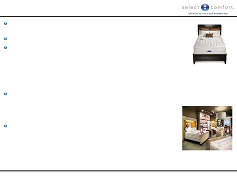 select comfort corp select comfort corp form 8 k ex 99 1 exhibit 99 1