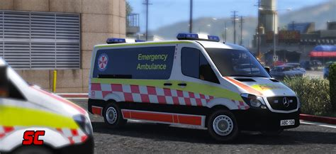 mercedes nsw nsw ambulance skin for mercedes sprinter gta5 mods