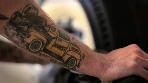 tire tattoo 187 hurst racing tires sometimes nothing