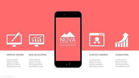 Nova Powerpoint Template By Mindvelopers Graphicriver Powerpoint App