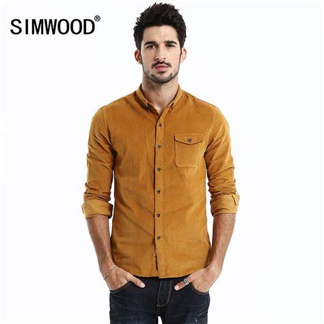 Corduroy Sleeve Shirt aliexpress buy 2016 new brand corduroy shirt