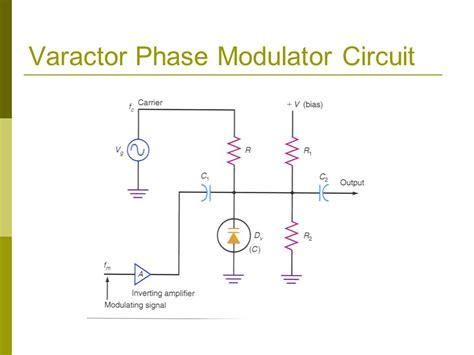 varactor diode fm modulator ppt varactor diode modulator circuit 28 images transmission modulation reception demodulation