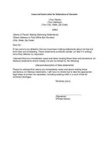 cease and desist letter template defamation sle cease and desist letter defamation the best