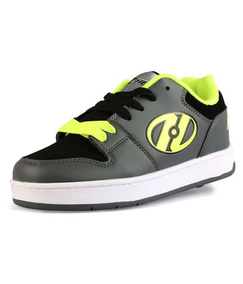 roller shoes for india heelys charcoal yellow 2 wheel roller shoes price in