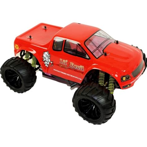 videos of rc monster trucks 1 10 electric rc monster truck lil devil
