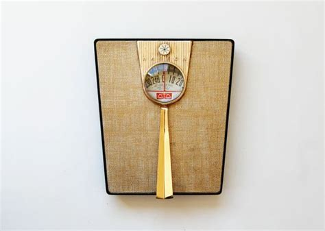 vintage bathroom scales vintage mid century bathroom scale 1950s gold art deco