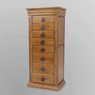 8 drawer jewelry armoire stand precious at sears