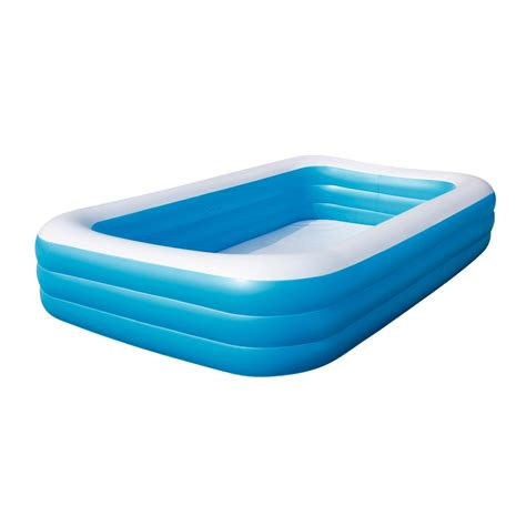 swimmingpool klein swimmingpool planschbecken 305x183x56 cm
