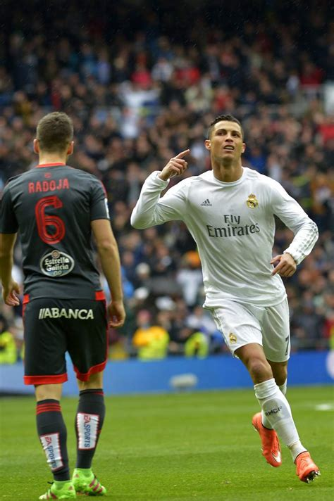 gol de cristiano ronaldo el real madrid cura sus heridas metiendo siete goles al celta