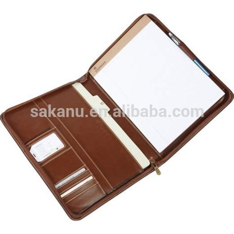 Tunewear Accord Folio 4 Pocket a4 conference portfolio presentation folder folio leather zip pads ring binder buy pads ring