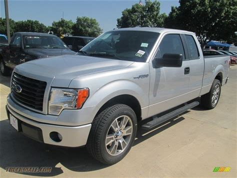 2014 Ford F150 Stx by 2014 Ford F150 Stx Supercab In Ingot Silver C15191