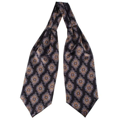 black co uk brianza ascot cravat tie description delivery