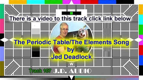 periodic table of elements song exle certificate periodic table of elements song tom