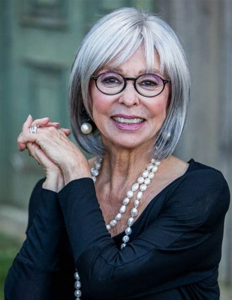 frames for grey hair limeroom aged beauty rita moreno this seems like a wig