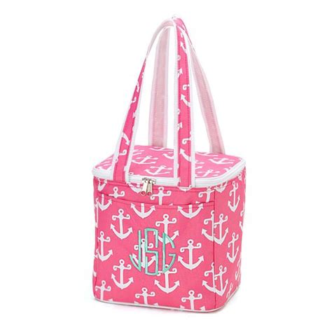 personalizedmonogram cooler bagtote beach cooler tote bag