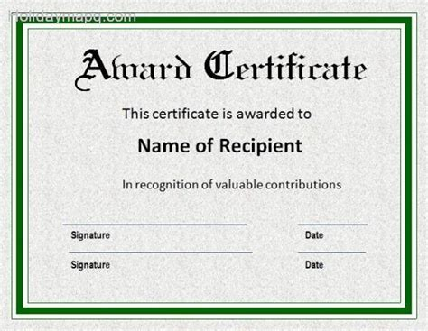 word templates certificate certificate template word holidaymapq