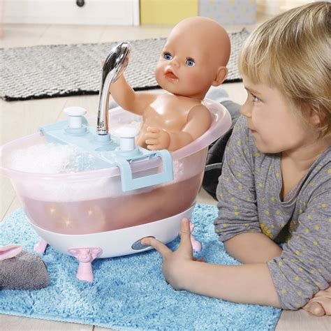 baby born bathtub zapf baby born interactive bathtub with duck toy kids
