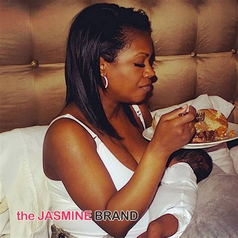 kandi burruss new house the real visits white house kandi burruss is a breastfeeding ch nicki minaj