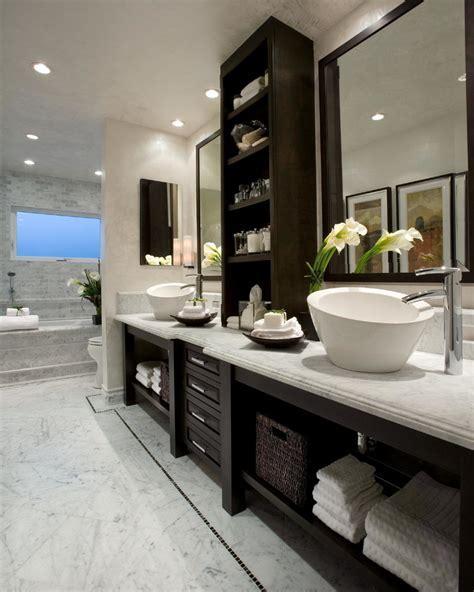 bathroom cabinet ideas Bathroom Contemporary with above
