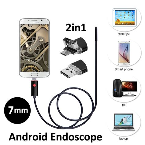 Usb Otg Android 2016 new 7mm 2in1 android usb endoscope 2m 5m smart