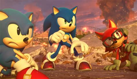 Ps4 Sonic Forces sonic forces will be playable at gamescom