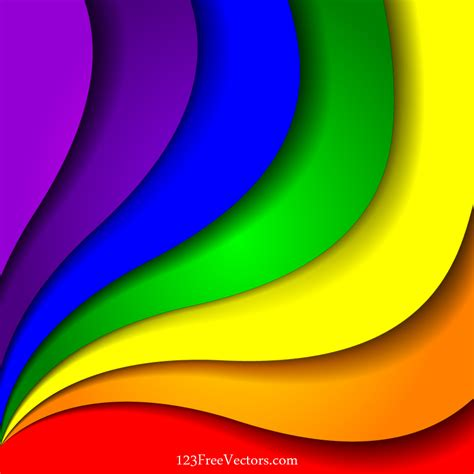 colorful wallpaper eps colorful rainbow background vector illustration by
