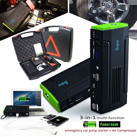Power Bank 12800 Mah Model V03 heavy duty portable battery power bank jump starter w tire compressor 12800mah ebay