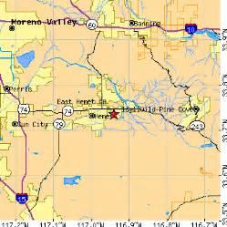 hemet california map east hemet california ca population data races
