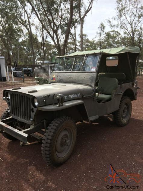 1945 Army Jeep 1945 Willys Army Jeep In Condition Previously On Club