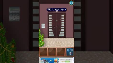 100 floors level 13 secret doors escape 100 floors level 13