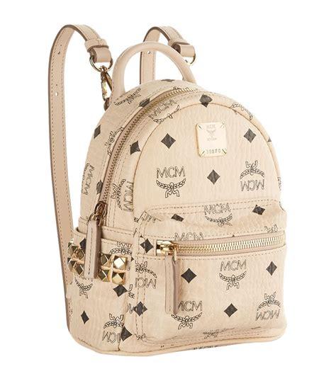 Mcm Stark Bebe Boo Backpack Mini mcm x mini stark bebe boo backpack harrods
