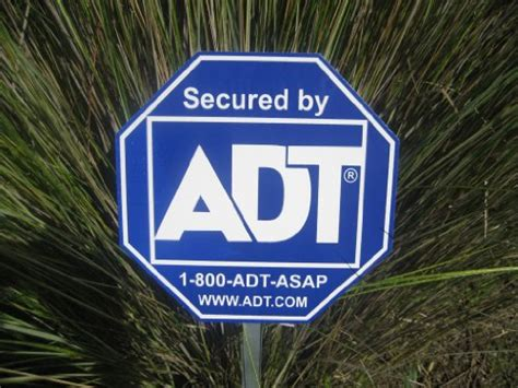 Home Security Signs by 1 Adt Brinks Broadview Yard Sign Home Security Alarm Signs