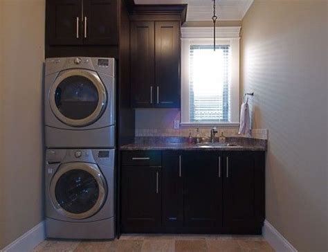 stacked washer dryer cabinet enclosures as 2216 melhores imagens sobre beautiful laundry rooms