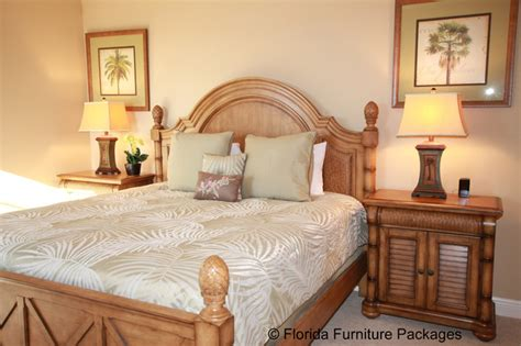 Tropical Style Bedroom Furniture Island Feel Tropical Bedroom Orlando By Florida Furniture Packages