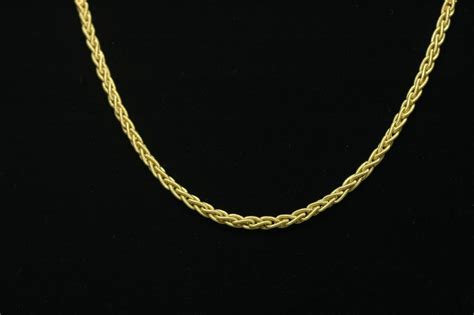 Handmade Gold Chains - 18k gold handmade chain silver and gold chains