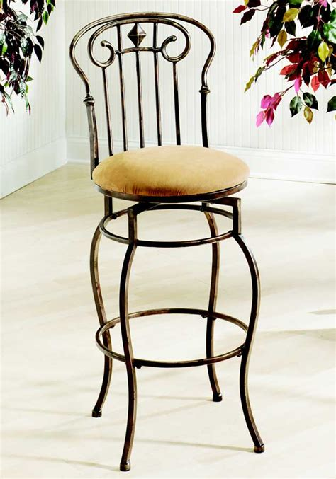 Single Leg Bar Stool by Hillsdale Tierra Mar Swivel Bar Stool With Single Leg 4326