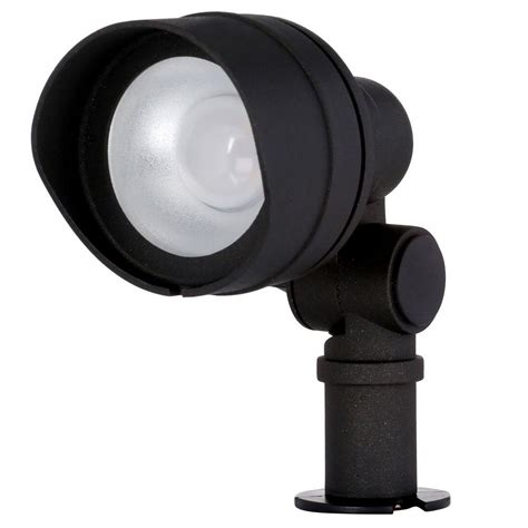 outdoor black light flood light hton bay low voltage integrated led 20 watt halogen