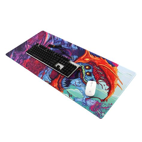 gaming mouse pad xl desk mat 300 x 800 mm model 4