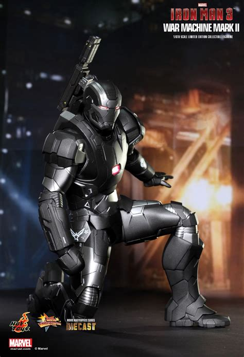 War Machine Diecast Toys Ironman Figure war machine ii from toys mifty is bored