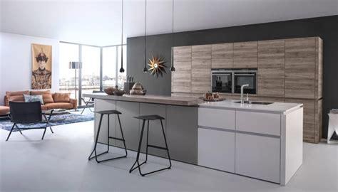 Idee Cuisine Bois by Cuisine Grise Moderne Astuces Et Id 233 Es D 233 Co Pour La 2015