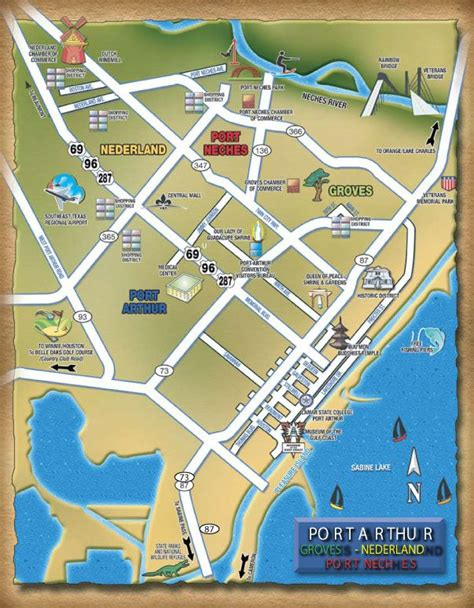 port arthur texas map pin by travel dude on travel