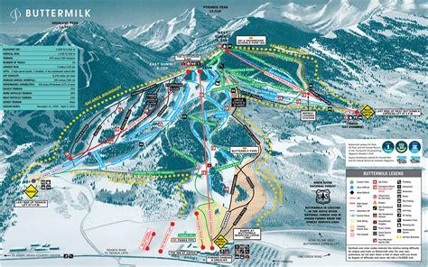 ski resorts in usa map ski map aspen united states