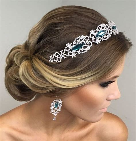 Bridal Hairstyles For Hair With Headband by Beautiful Bridal Updo Hairstyle With Headband Bridal