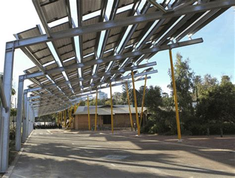 Jumbo Sized Solar Pergola At Perth Zoo 171 Antinuclear Solar Panel Pergola