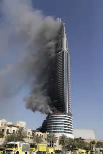 Trump Towers Address dubai investigates luxury hotel skyscraper fire near burj