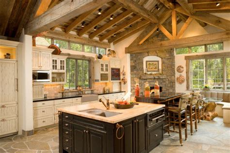rustic cabin kitchen ideas modern log cabin interior design bedroom house design
