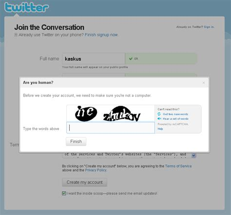 contoh membuat twitter lewat hp cara daftar twitter indonesia cholid hidayatullah cara