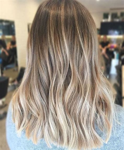 blonde highlights and ombre balayage blonde lowlights color by hairbykaitlinjade