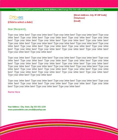 pattern design business company letterhead pattern design dotxes