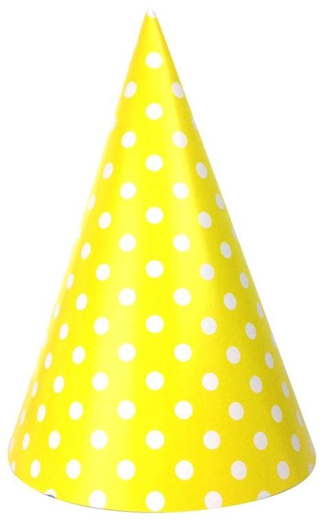 Dotted 12pcs cone hats